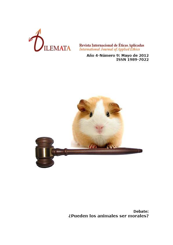 Ver Núm. 9 (2012): ¿Pueden ser los animales ser morales?