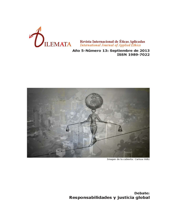 dilemata 13 portada