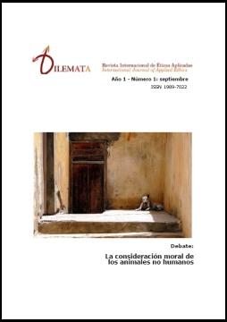 Ver Núm. 1 (2009): La consideración moral de los animales no humanos