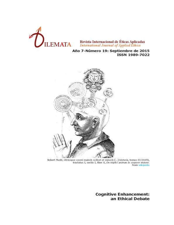 Ver Núm. 19 (2015): Cognitive enhancement: an Ethical Debate