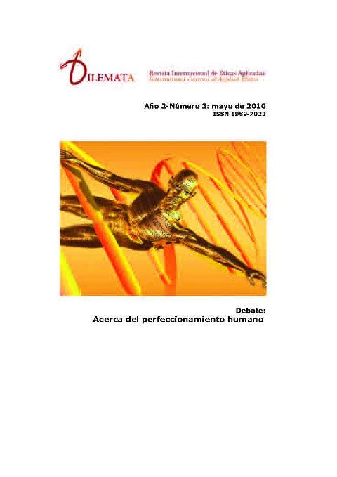 Ver Núm. 3 (2010): Acerca del perfeccionamiento humano